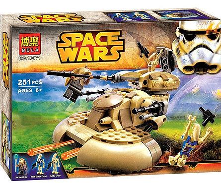 Коробка BELA Star Wars Бронированный штурмовой танк ААТ | 75080 | IQREPLICA