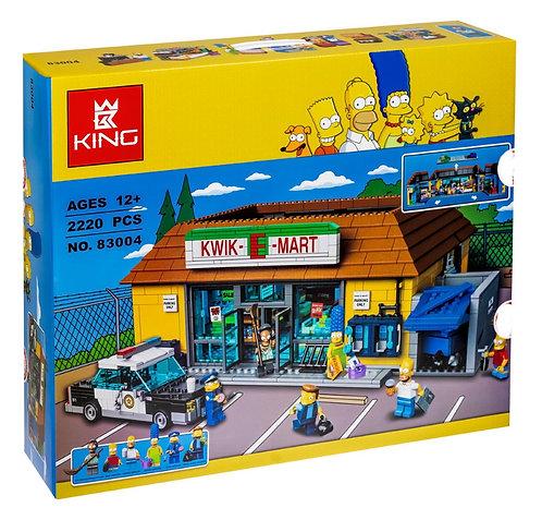 Конструктор KingQueen Магазин «На скорую руку» Simpsons | 71016