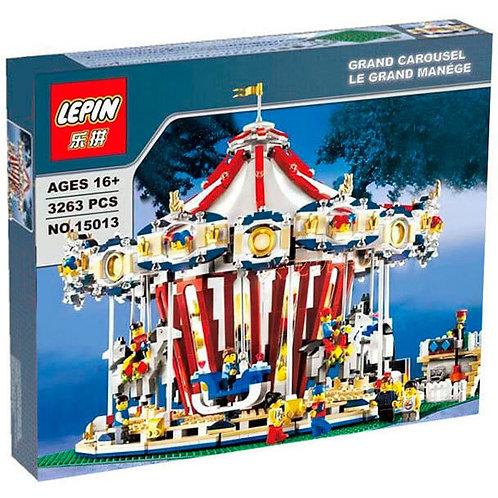 Коробка аналог Lego Creator Series Большая Карусель (с мотором) | 10196 | LEGOREPLICA