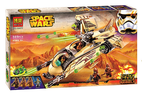 Коробка аналог Lego Star Wars Боевой корабль Вуки   75084   LEGOREPLICA
