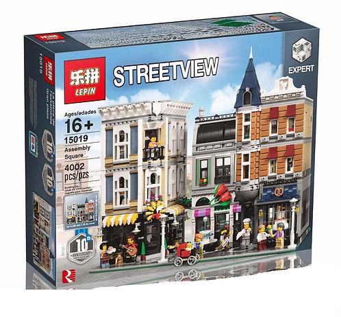 Коробка аналог Lego Creator Городская Площадь | 10255 | LEGOREPLICA