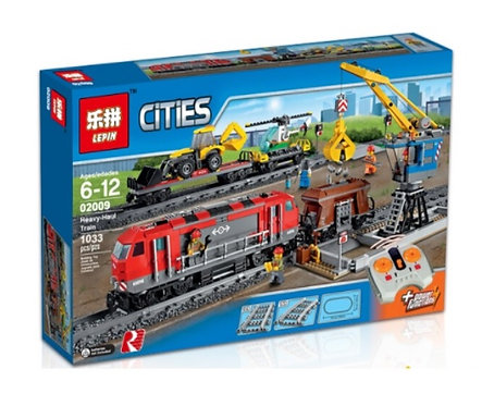 Коробка LEPIN Train Series Мощный грузовой поезд | 60098 | IQREPLICA