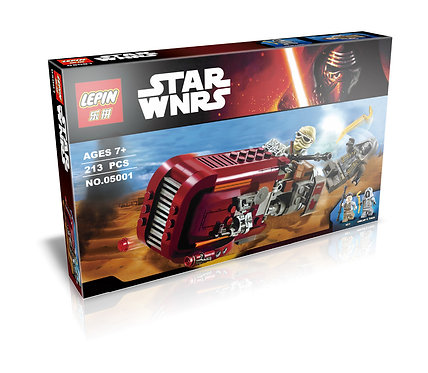 Коробка аналог Lego Star Wars Спидер Рей | 75099 | LEGOREPLICA