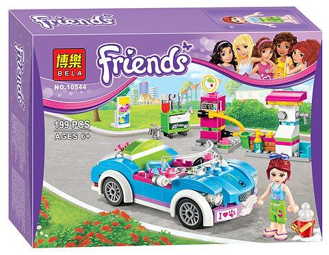 Коробка аналог Lego Friends Кабриолет Мии | 41091 | LEGOREPLICA