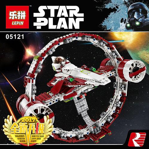 Коробка LEPIN Star Wars Истребитель джедаев с гипердвигателем | 75191 | IQREPLICA