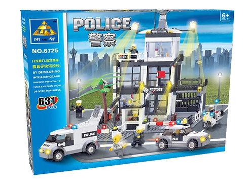 Коробка KAZI City Series Центральный офис полиции | IQREPLICA