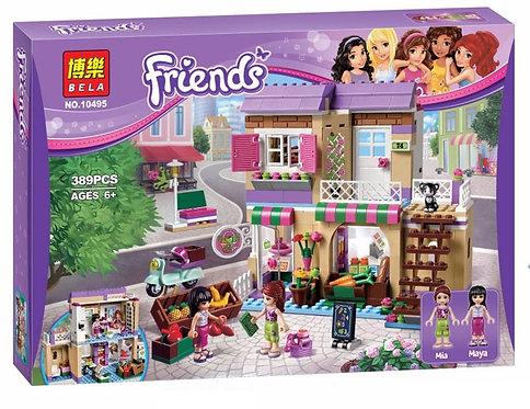 Коробка аналог Lego Friends Продуктовый рынок | 41108 | LEGOREPLICA