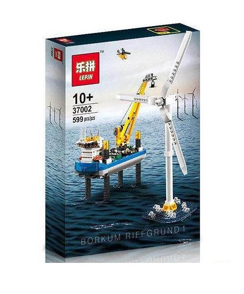 Коробка LEPIN Creator Ветряная электростанция Borkum Riffgrund 1   4002015   IQREPLICA