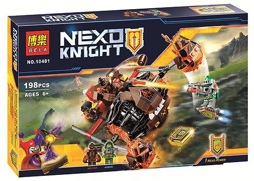 Коробка аналог Lego Nexo Knights Лавинный разрушитель Молтора | 70313 | LEGOREPLICA