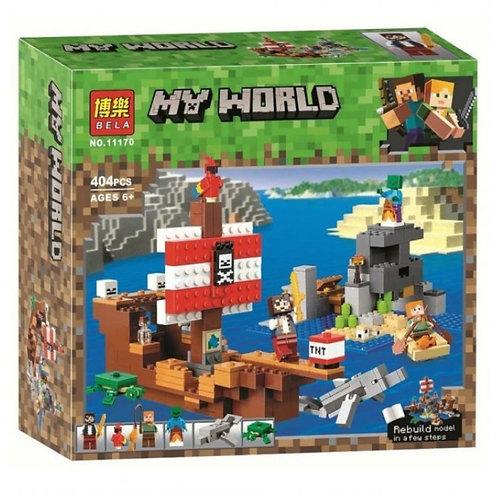 Конструктор BELA Приключения на пиратском корабле | 21152