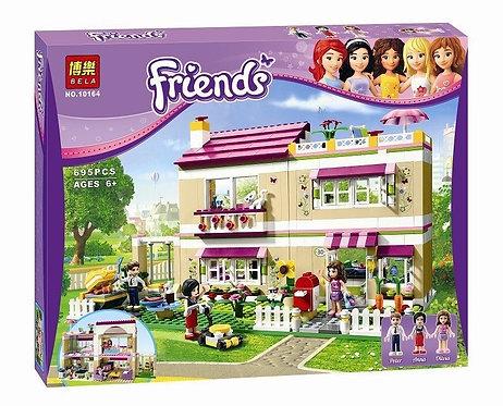 Коробка аналог Lego Friends Дом Оливии | 3315 | LEGOREPLICA