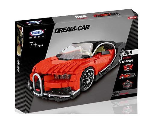 Коробка аналог Lego Racers Bugatti Veyron MOC | LEGOREPLICA