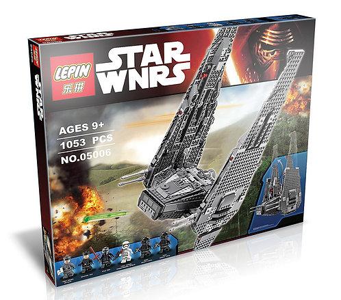 Коробка аналог Lego Star Wars Командный шаттл Кайло Рена | 75104 | LEGOREPLICA