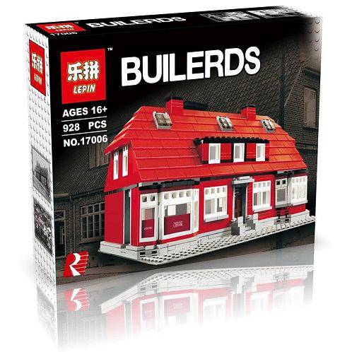 Коробка аналог Lego Creator Дом Оле Кирка   4000007   LEGOREPLICA