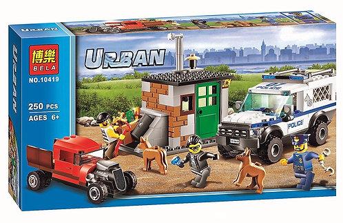 Коробка аналог Lego City Полицейский отряд с собаками | 60048 | LEGOREPLICA
