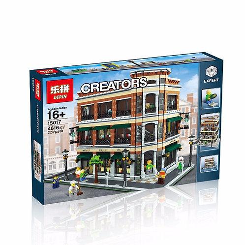 Коробка аналог Lego Creator MOC Старбакс Кафе | LEGOREPLICA