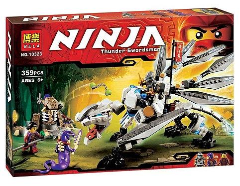 Коробка аналог Lego Ninjago Титановый дракон | 70748 | LEGOREPLICA