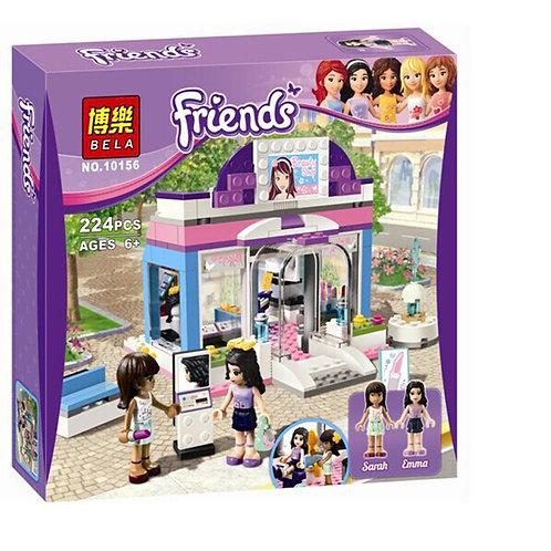 Коробка аналог Lego Friends Салон красоты Стефани | 3187 | LEGOREPLICA