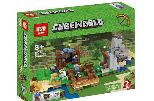 Коробка аналог Lego Minecraft Набор для творчества 2.0 (Верстак) | 21135 | LEGOREPLICA