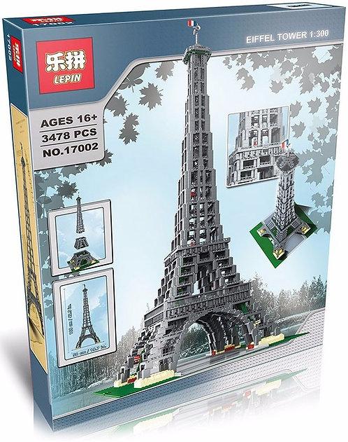 Коробка аналог Lego Creator Эйфелева Башня в Масштабе 1:300 | 10181 | LEGOREPLICA