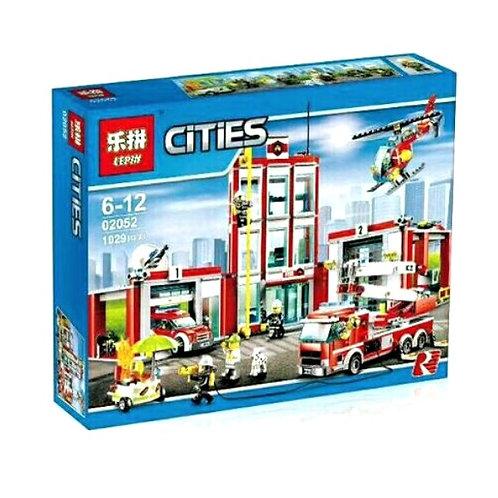 Коробка LEPIN Пожарная часть | 60110 | IQREPLICA