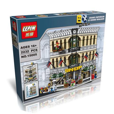 Коробка аналог Lego Creator Большой торговый центр | 10211 | LEGOREPLICA