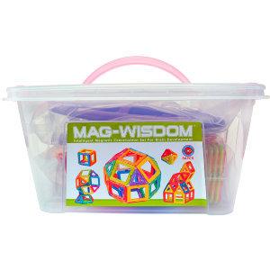 Упаковка конструктор Mag Wisdom Intelligent magnetic 56 деталей   LEGOREPLICA