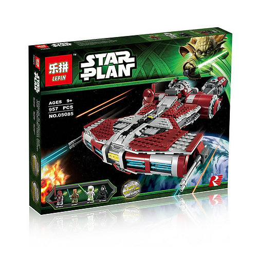 Коробка аналог Lego Star Wars Джедайский крейсер класса Защитник | 75025 | LEGOREPLICA