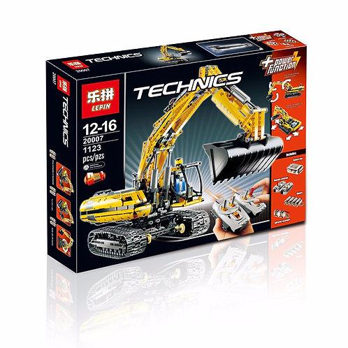 Коробка аналог Lego Technic Моторизированный Экскаватор | 8043 | LEGOREPLICA