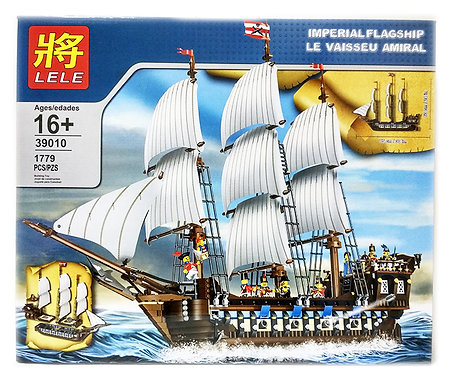 Коробка LELE Корабль Имперский флагман | 10210 | IQREPLICA