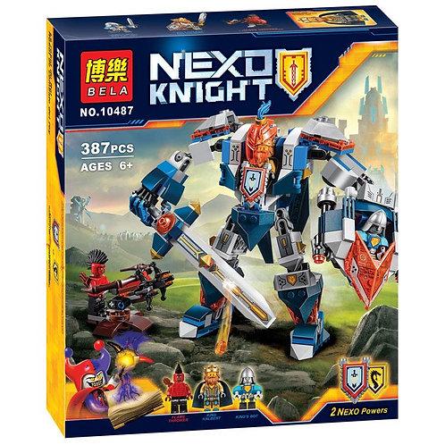 Коробка аналог Lego Nexo Knights Механический рыцарь Короля | 70327 | LEGOREPLICA