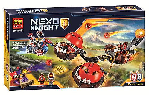 Коробка аналог Lego Nexo Knights Безумная колесница Укротителя | 70314 | LEGOREPLICA