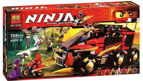 Коробка аналог Lego Ninjago Мобильная база Ниндзя | 70750 | LEGOREPLICA