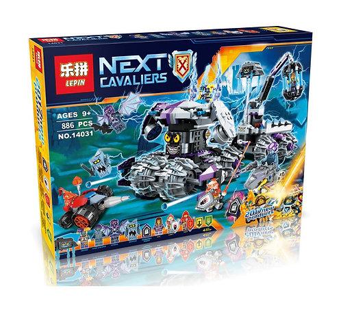Коробка аналог Lego Nexo Knights Штурмовой разрушитель Штаб Джестро   70352   LEGOREPLICA