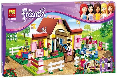 Коробка аналог Lego Friends Городские конюшни Хартлейк Сити | 3189 | LEGOREPLICA