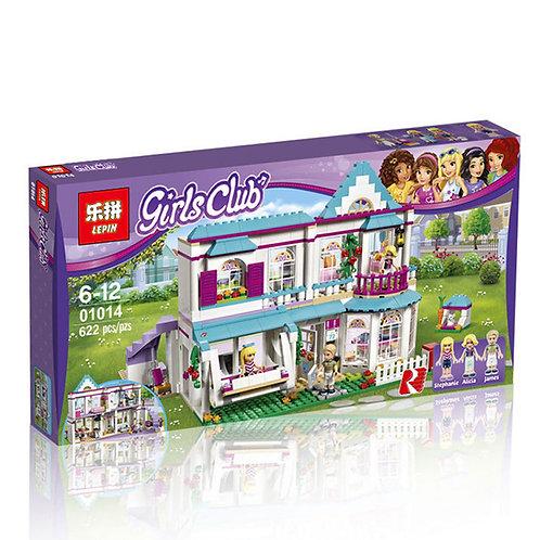 Коробка аналог Lego Friends Series Дом Стефани | 41314 | LEGOREPLICA