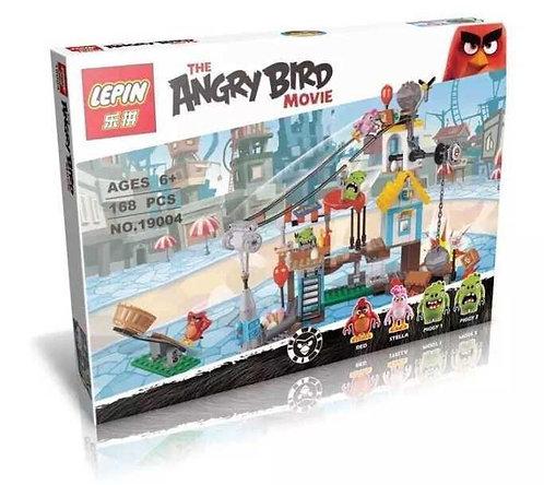 Коробка LEPIN Angry Birds Разгром Свинограда | 75824 | IQREPLICA