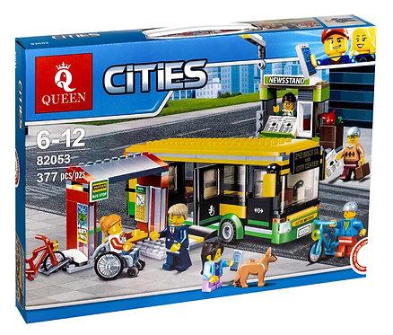 Конструктор KingQueen Автобусная остановка | 60154
