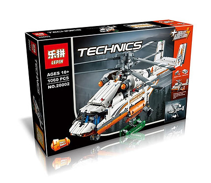 Коробка аналог Lego Technic Грузовой вертолет   42052   LEGOREPLICA