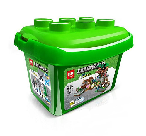 Коробка LEPIN Minecraft Площадь с домом на дереве | IQREPLICA