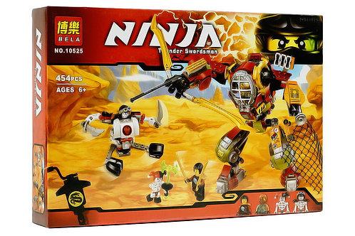 Коробка аналог Lego Ninjago Робот-спасатель   70592   LEGOREPLICA