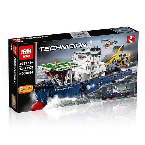 Коробка аналог Lego Technic Series Исследователь Океана | 42064 | LEGOREPLICA