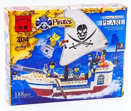 Коробка BRICK Pirates Корабль корсаров «Жемчужина» | IQREPLICA