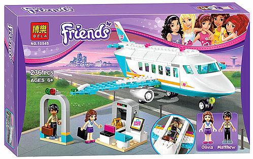 Коробка BELA Friends Частный самолет | 41100 | IQREPLICA