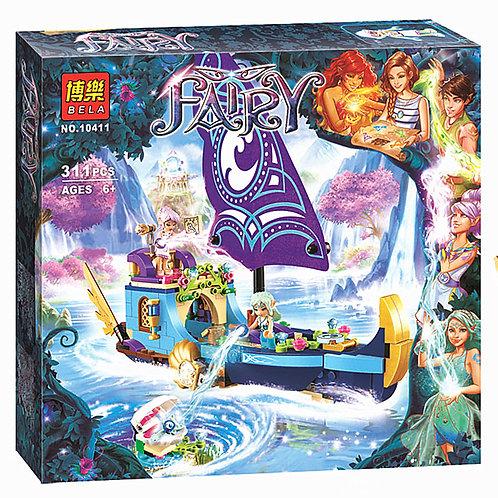 Коробка аналог Lego Elves Корабль Наиды | 41073 | LEGOREPLICA