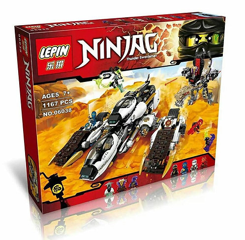Коробка аналог Lego Ninjago Внедорожник с суперсистемой маскировки   70595   LEGOREPLICA