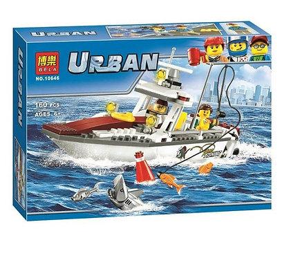 Коробка BELA Рыболовный катер   60147   IQREPLICA
