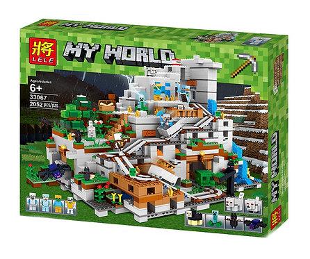 Коробка LELE Minecraft Горная пещера | 21137 | IQREPLICA
