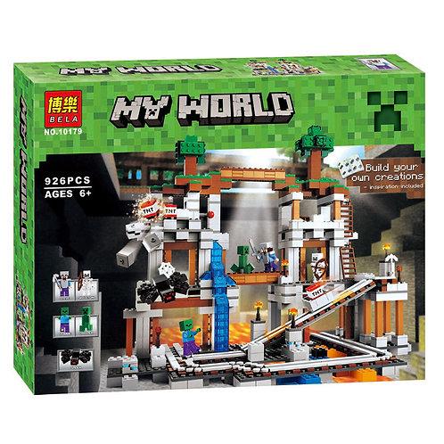 Коробка аналог Lego Minecraft Шахта   21118   LEGOREPLICA