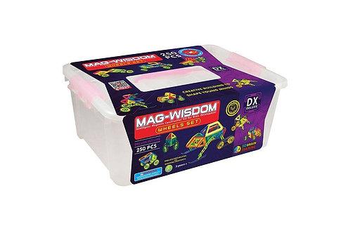 Магнитный конструктор Mag Wisdom Wheels Set 250 деталей | LEGOREPLICA